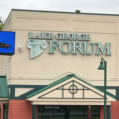 Lake George Forum - another view from parking lot