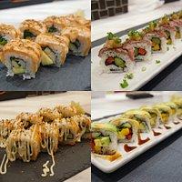 New Menu Sushi Roll