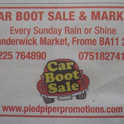Newspaper advert.