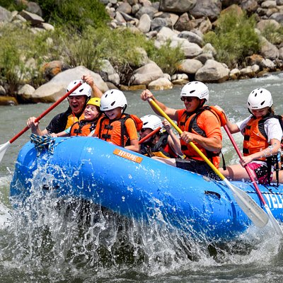 Rafting on the Yellowstone