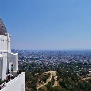 Vistas desde el observatorio Griffith