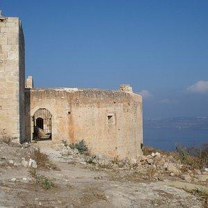 Ottoman Fortress utanför Aptea