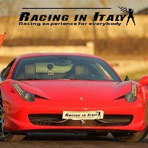 The Ferrari 458 with Anastasiia and Valery :)