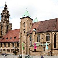 Vue générale de l'église de St Kilian