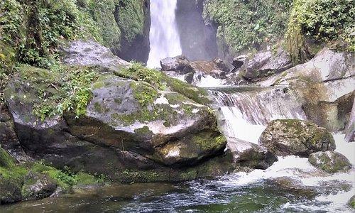 Alta Waterfall at Pico Bonito National Park, Honduras.