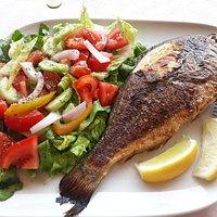 Самая вкусная рыба на Корфу
