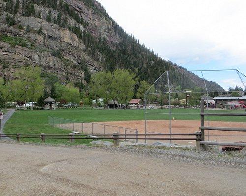 Baseball diamond. Fellin Park, Ouray, CO