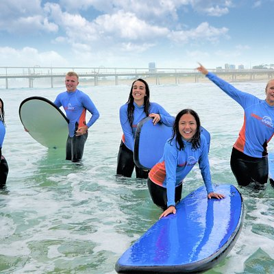 Learn to surf where the locals do