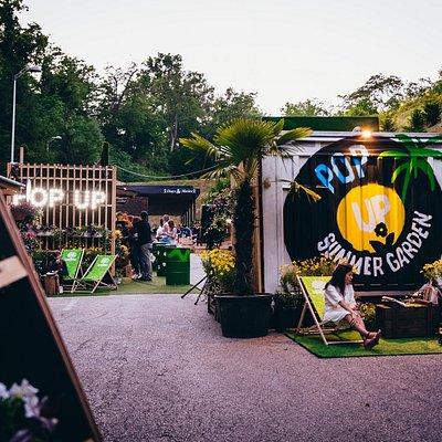 Pop Up Summer Garden Tuškanac Park
