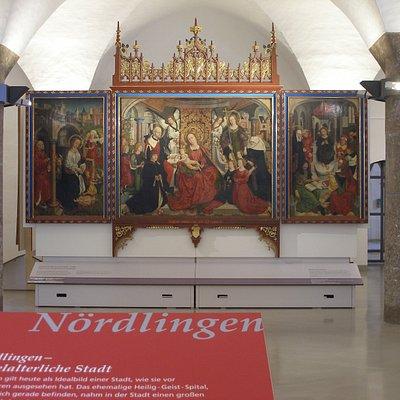 Mittelalterliche Kunstwerke erzählen von der großartigen Nördlinger Geschichte.