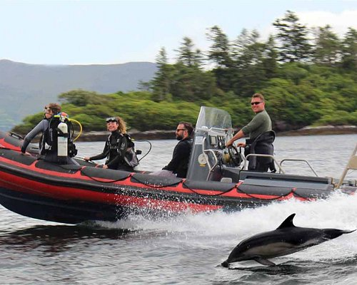 The Dive Boat at Oyster Bed Sneem Co Kerry Ireland