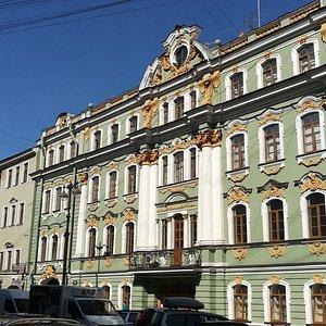 Б.Морская улица, д.29, Дом М.Г. Разумовской, постройка 1848 г., май