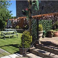 Garden at Blenkinsopp Castle Inn