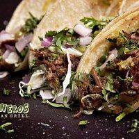 Tacos de Cachete (beef cheek). Juicy trnder and delicious.