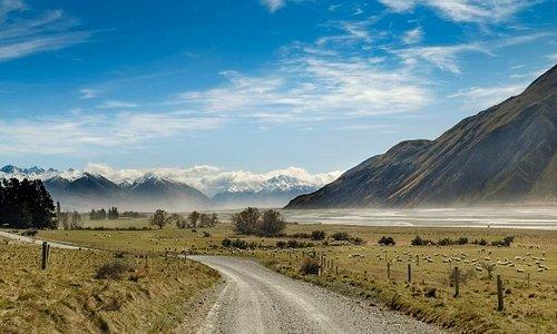 Rangitata Valley, Mesopotamia, Peel Forest, Geraldine, New Zealand.