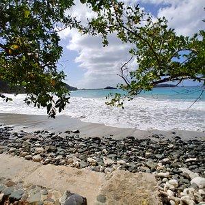 Sandy Beach in Botany Bay St Thomas US Virgin Islands