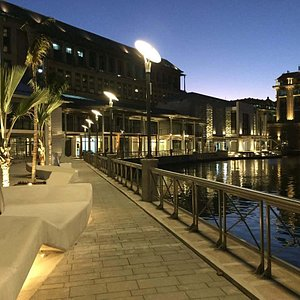 Renovated Structures at Port Louis Waterfront by Landscope Mauritius