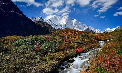 Khangshong Face - Everest east side trekking