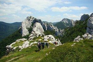 Lika region offers a lot of hiking possibilities. One of them is Dabarski kukovi, the spectacular 143 km long massif on Velebit mountain.