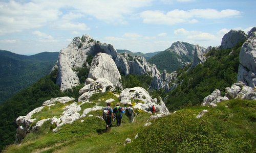 Lika region offers a lot of hiking possibilities. One of them is Dabarski kukovi, the spectacular 143 km long massif on Velebit mountain.