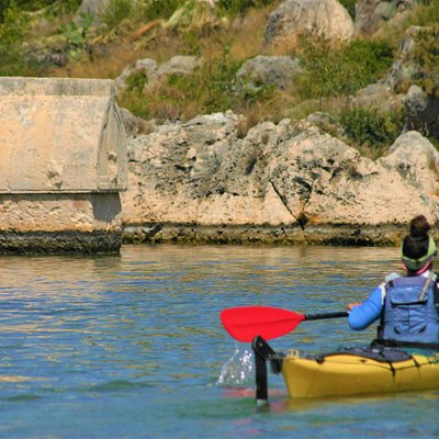 Kayaking in Lycia