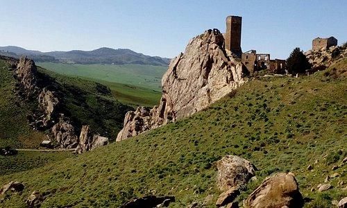 Il castello nello roccia!