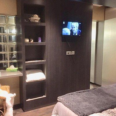 WIfi et Tv dans la chambre