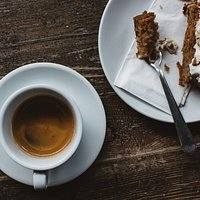 Sit back and have a coffee and a good dessert.