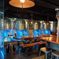 The brew vats!
