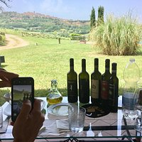 Tasting at Manvi Winery-Montepulciano