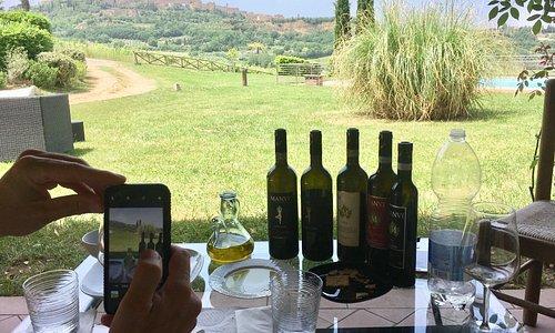 Tasting at Manvi Winery-Montepulciano