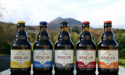 A selection of some of our beers. All our beers are traditionally brewed in small batches and are 100% natural and vegan-friendly.