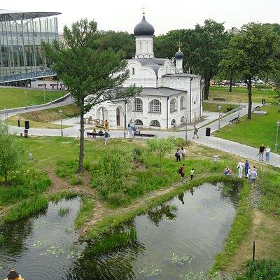 Зачатьевская церковь в Зарядье (12 июня 2019 года)