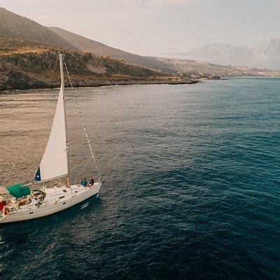Drone Photo - Heading West towards Brosnero Bay.