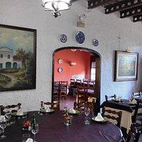 Saló restaurant Sant Antoni de Premià de Dalt