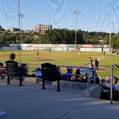 evening at a rogues game