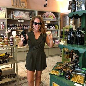 Fantastic oils, olives and nut butter!!
