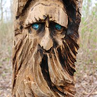 Wooden Carving by the Spirit Ninja