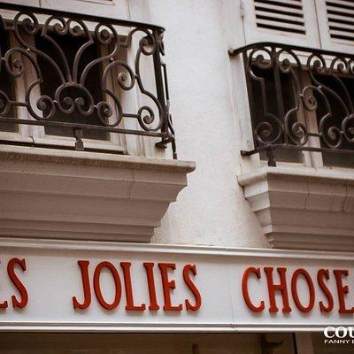 """Boutique de créateurs locaux """"Les Jolies Choses"""", Bayonne, 64."""