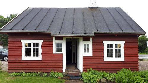 Svenskerhuset, hvor kartoffel-tysker museet er.