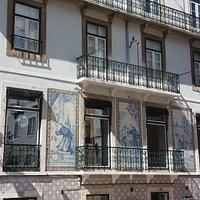 Edificio na Rua do Milagre de Santo Antonio