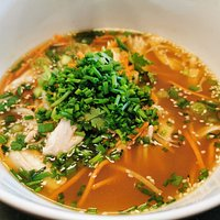 My bowl of ramen soup