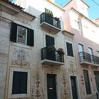 Fachada do Edificio na rua de S.Domingos a Lapa 43-45