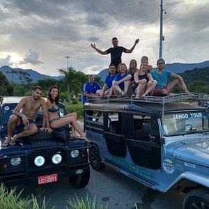 Jipe Off road 4x4 Brasil Paraty