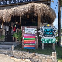We found a wonderful sports bar and restaurant during our island tour!  Refreshing cocktails, music and wonderful bartender and wait staff!  A must stop for sure!