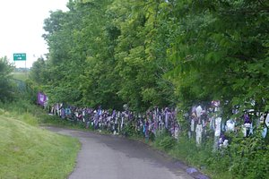 Memorial Fence Outside of Paisley Park