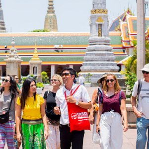 There's more to Wat Pho than just the famous and beautiful Reclining Buddha. Find out more on our Tuk Tuk Experience or Temple and River of Kings tour #localsknow