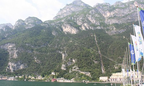 Riva del Garda from the harbour