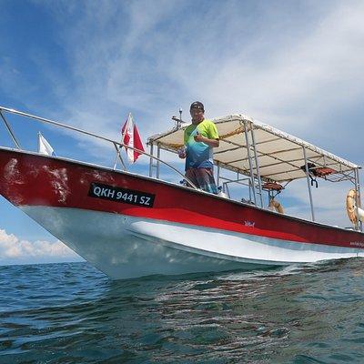 "PMSC dive boat ""WETWOLF'"