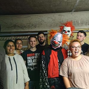 Our group and a few of the Zombies